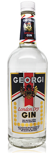 Georgi Gin London Dry 1.00l - Case of 12